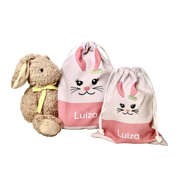 2 sacos rosa