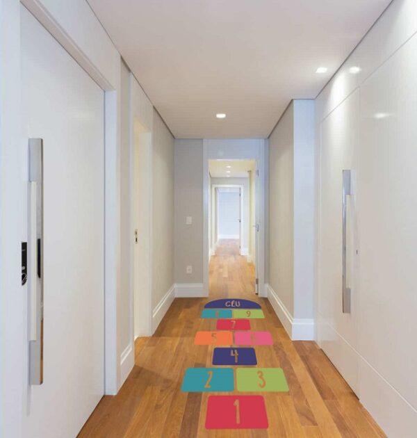 Amarelinha corredor